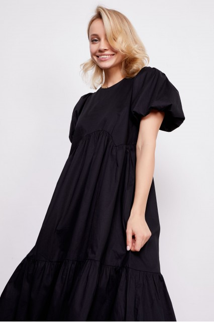Платье черное Carla