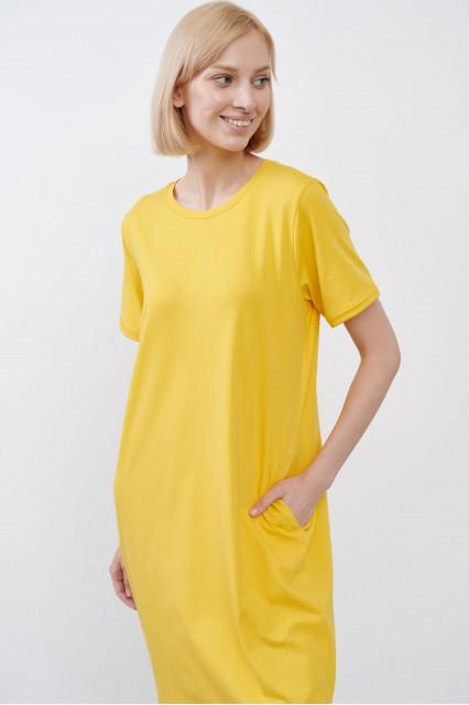 Платье желтое JUL