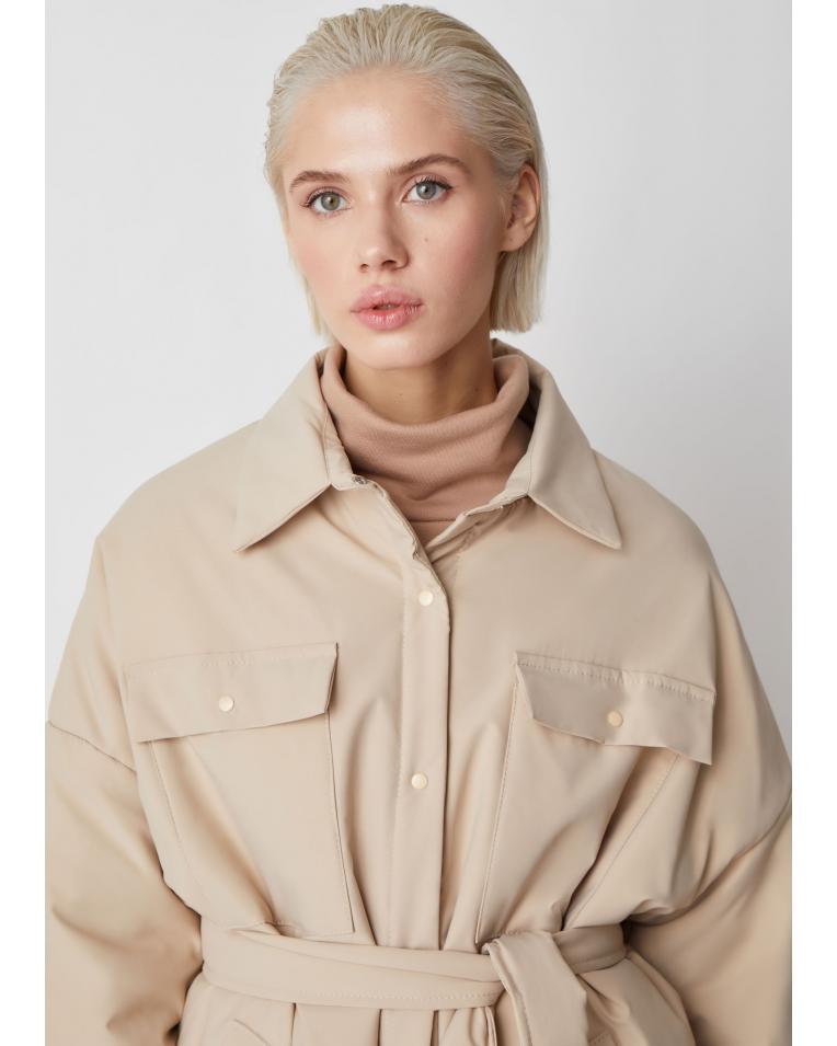 Рубашка-куртка Amanda, беж