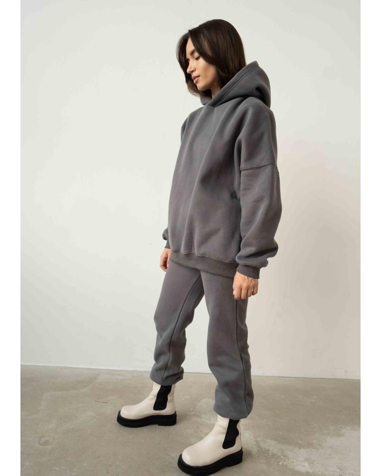 Damgarder графитовый костюм на флисе