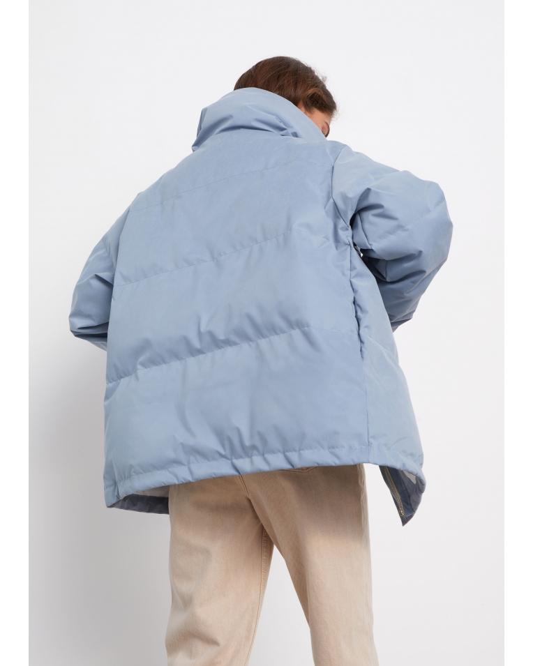 Куртка Leo демисезонная стёганая, голубой