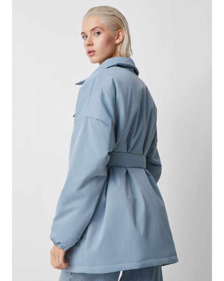 Amanda голубой куртка-рубашка
