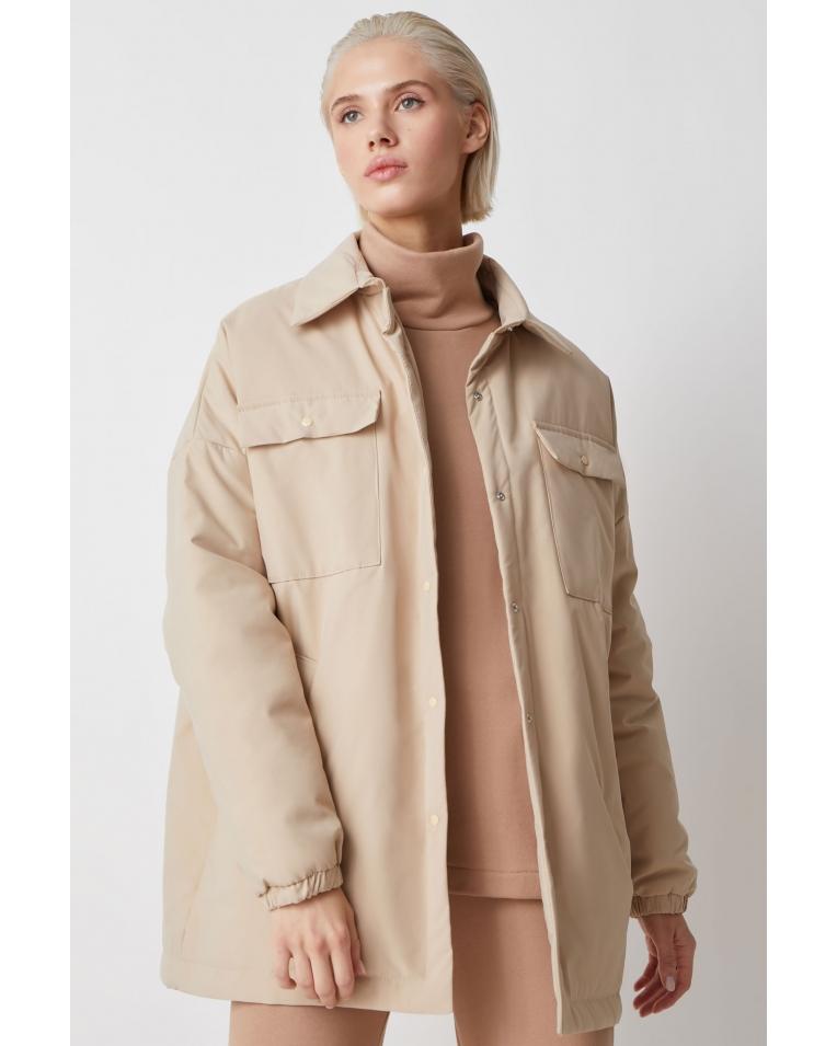 Куртка-рубашка Amanda, беж