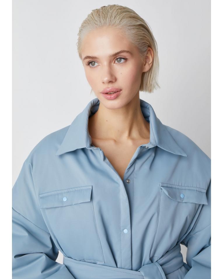 Рубашка-куртка Amanda, голубой