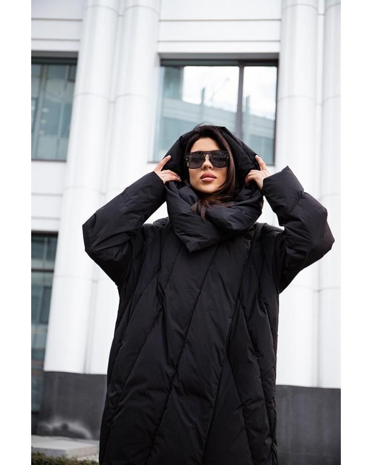 Mork Anhanma 2020 черный пуховик одеяло