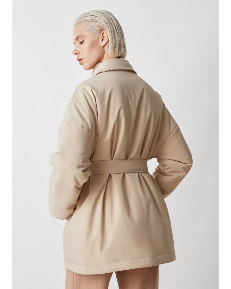 Amanda куртка-рубашка, беж