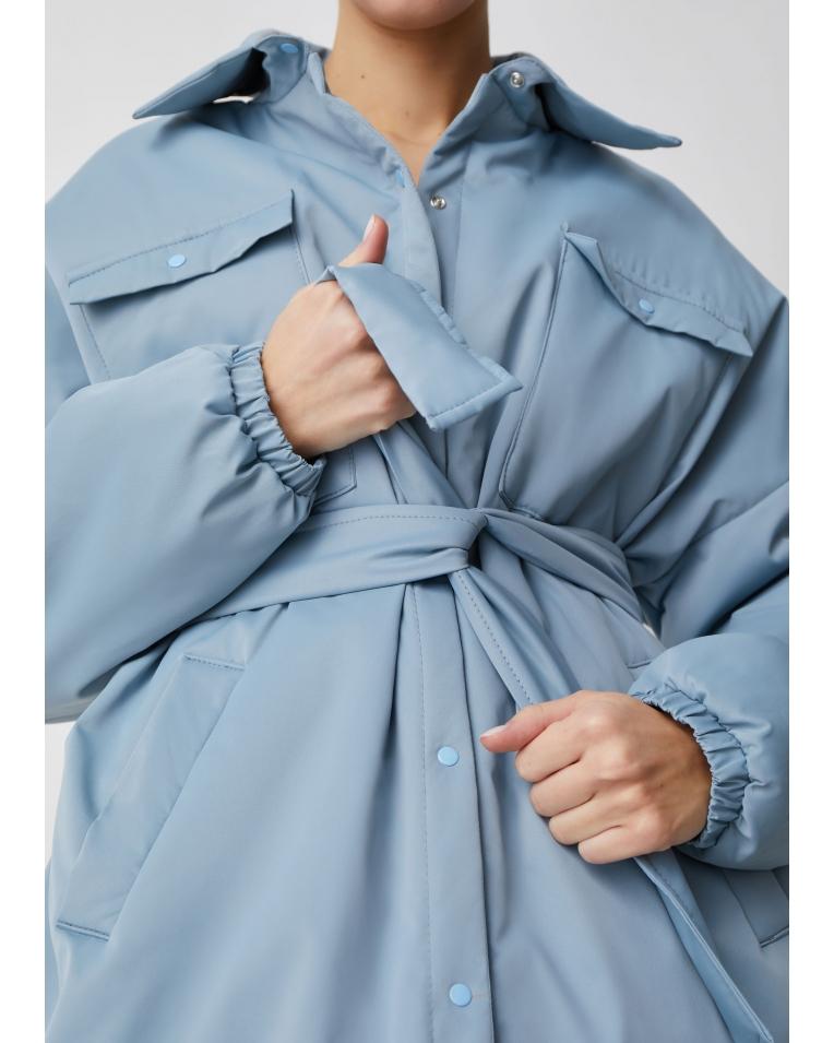 Amanda куртка-рубашка, голубой